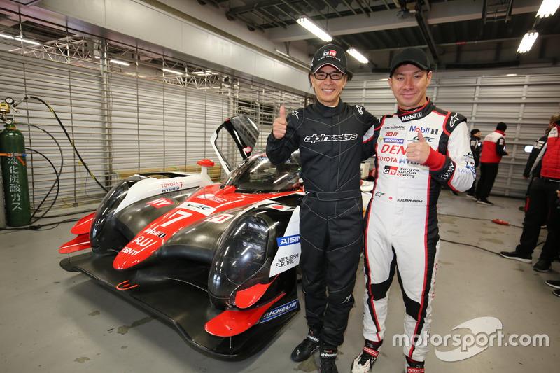 GAZOO Racing company友山社長, 小林可夢偉