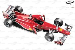 Ferrari F10 3/4 view