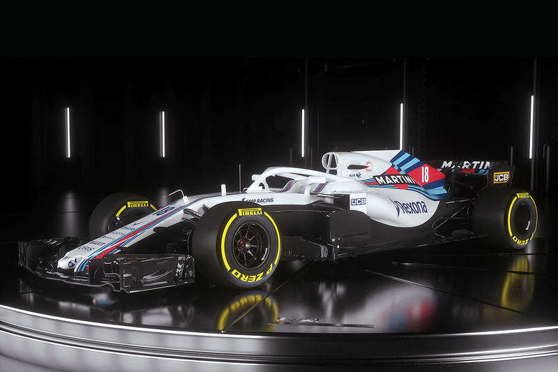 2018 (Lance Stroll, Williams-Mercedes FW41)
