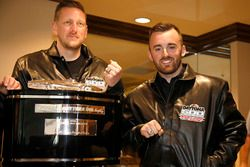 Austin Dillon, Richard Childress Racing Chevrolet Camaro met Crew chief Justin Alexander