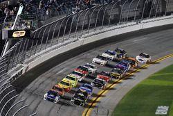 Start zu Duel 1 in Daytona 2018: Alex Bowman, Hendrick Motorsports Chevrolet Camaro