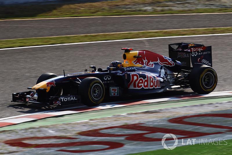 El Red Bull RB7 de 2011: 'Kinky Kylie' (Pervertida Kylie)