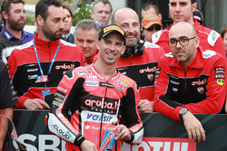 Yarış galibi Marco Melandri, Aruba.it Racing-Ducati SBK Team