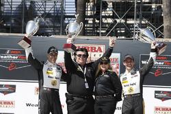 Winners Joao Barbosa, Filipe Albuquerque, Action Express Racing