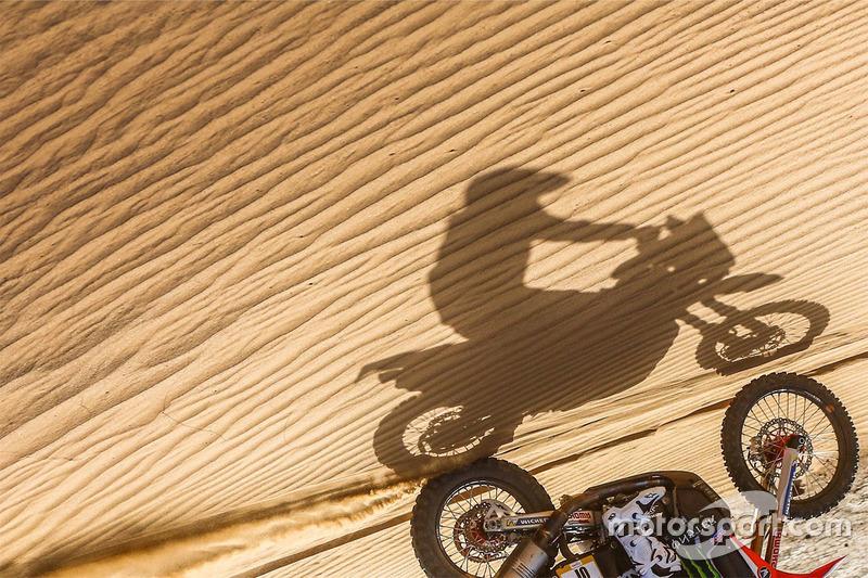 Sombra de una moto