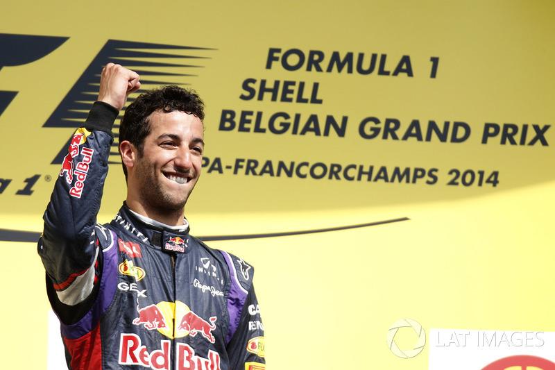 2014 - Red Bull, Daniel Ricciardo