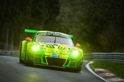 #912 Manthey Racing Porsche 991 GT3-R: Richard Lietz, Fred Makowiecki