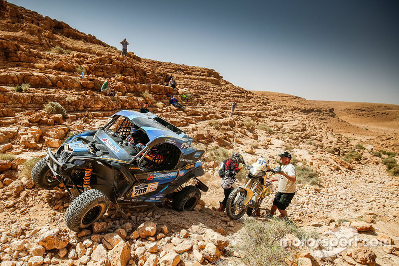 Bruno Varela e Gustavo Gugelmin no Rally Cross Country