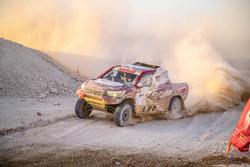 ناصر العطية، المرحلة الثانية، رالي قطر الصحراوي