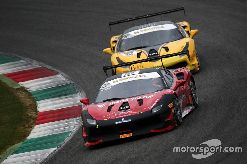 #27 Rossocorsa - Pellin Racing Ferrari 488: Alessandro Vezzoni