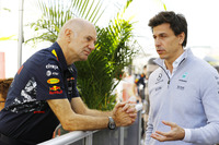 Adrian Newey, Red Bull Racing, ve Toto Wolff,
