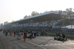 La griglia di partenza di Gara 3