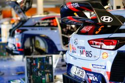 Detalle del auto de Thierry Neuville, Nicolas Gilsoul, Hyundai i20 WRC, Hyundai Motorsport