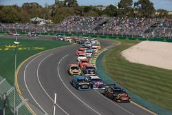 Start der Supercars 2018 auf dem Albert Park Circuit in Melbourne