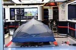 La voiture de Daniel Ricciardo, Red Bull Racing RB14