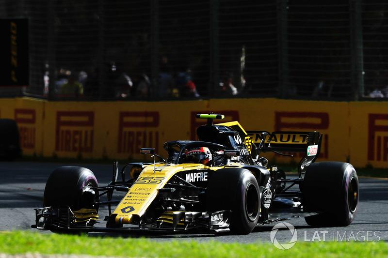 Sainz moest bijna overgeven tijdens de race