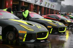 #44 Invictus Games Racing Jaguar F-TYPE SVR GT4: Steve McCulley, Matthew George, #22 Invictus Games Racing Jaguar F-TYPE SVR GT4: Ben Norfolk, Jason Wolfe