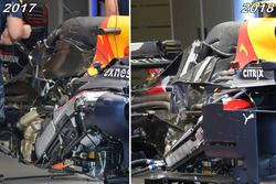 Red Bull Racing, motori 2017 e 2018 a confronto