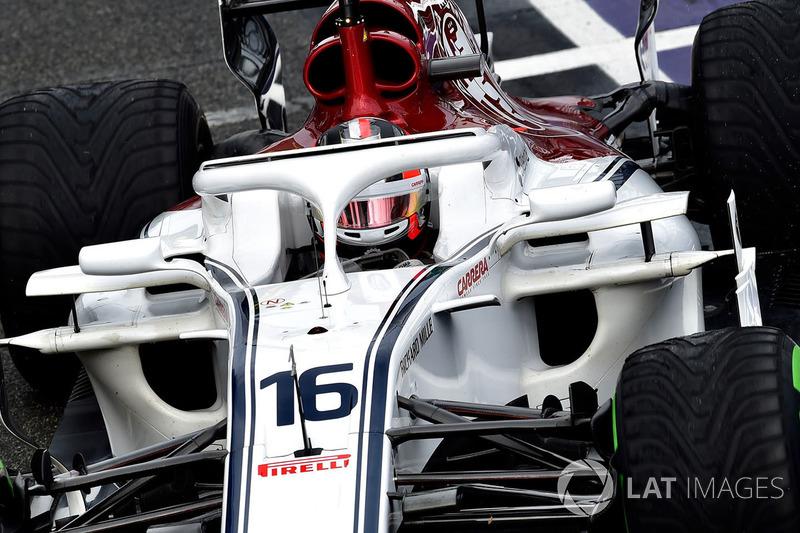15 місце — Шарль Леклер, Sauber. Умовний бал — 6,589