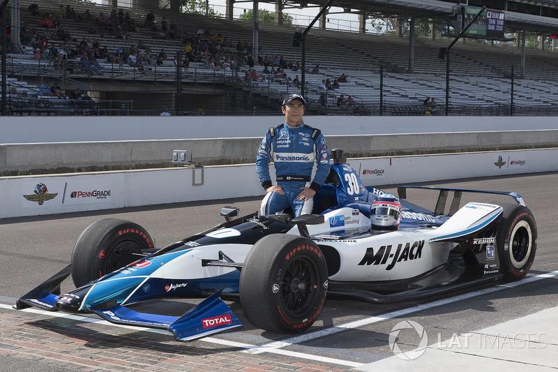 16. Takuma Sato, Rahal Letterman Lanigan Racing, Honda