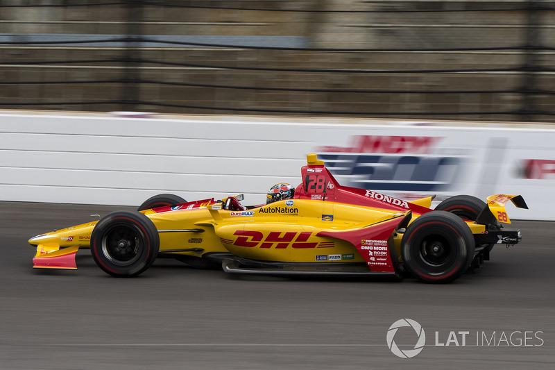14°: Ryan Hunter-Reay, Andretti Autosport Honda