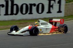 Silverstone 1991, Ayrton Senna, Mclaren Honda