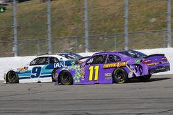 Tyler Reddick, JR Motorsports, Chevrolet Camaro Takl and Ryan Truex, Kaulig Racing, Chevrolet Camaro Phantom Fireworks