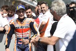 Marc Marquez, Repsol Honda Team, mit Mick Doohan