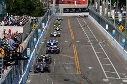 Zach Veach, Andretti Autosport Honda, Spencer Pigot, Ed Carpenter Racing Chevrolet, Jack Harvey, Mic