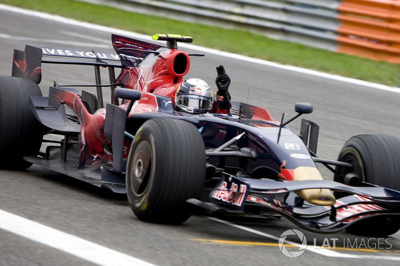 2008 Sebastian Vettel, Toro Rosso
