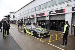 Stewart McCulley, Paul Vice, Matthew George Invictus Games Racing Jaguar F-TYPE SVR GT4