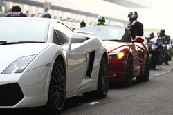 Supercars on the grid