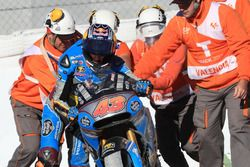Jack Miller, Estrella Galicia 0,0 Marc VDS after the crash