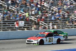 Ryan Blaney, Wood Brothers Racing Ford, Jeffrey Earnhardt, Circle Sport - The Motorsports Group Chev