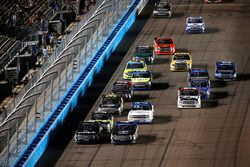 Restart: Noah Gragson, Kyle Busch Motorsports Toyota, Christopher Bell, Kyle Busch Motorsports Toyot