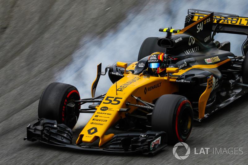 8: Carlos Sainz Jr., Renault Sport F1 Team RS17