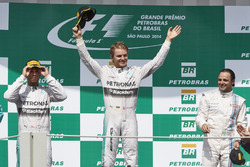 Podium: Race winner place Nico Rosberg, second place Mercedes AMG Lewis Hamilton, Mercedes AMG, thir