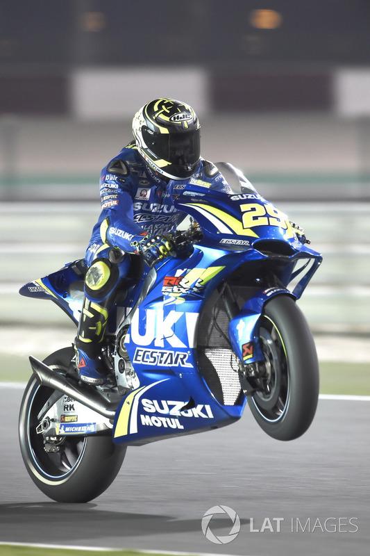 MotoGP Qatar: Andrea Iannone, Team Suzuki MotoGP