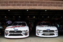 Cole Custer, Stewart-Haas Racing, Ford Mustang Haas Automation, Kaz Grala, JGL Racing, Ford Mustang NETTTS