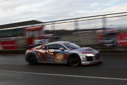 #47 Fox Motorsport Audi R8 LMS GT: Jamie Stanley, Glenn Sherwood, Ben Clucas