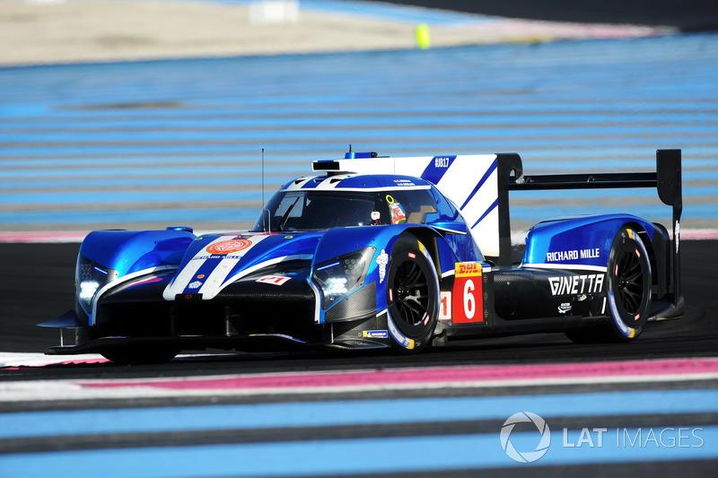 (LMP1) #6 CEFC TRSM RACING Ginetta G60-LT-P1: Oliver Rowland, Alex Brundle, Oliver Turvey