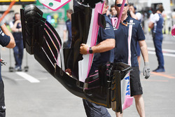 Force India VJM11 nose and front wing