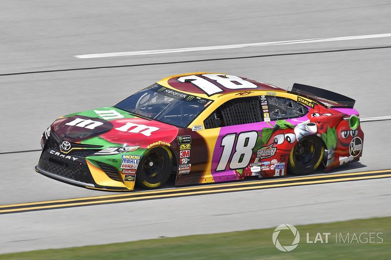 19. Kyle Busch, Joe Gibbs Racing, Toyota Camry M&M's Flavor Vote