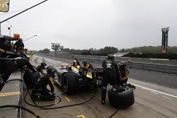 James Hinchcliffe, Schmidt Peterson Motorsports Honda, pitstop