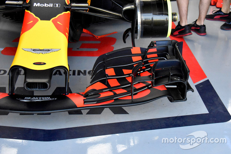 Alerón delantero de Max Verstappen, Red Bull Racing RB14