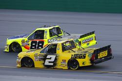 Cody Coughlin, GMS Racing, Chevrolet Silverado Jeg's.com and Matt Crafton, ThorSport Racing, Ford F-150 Rip It/ Menards