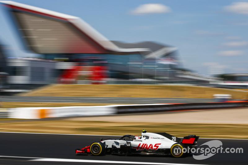 7: Kevin Magnussen, Haas F1 Team VF-18, 1'27.244
