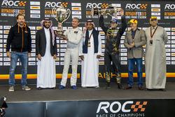 Il vincitore David Coulthard, il secondo classificato Petter Solberg