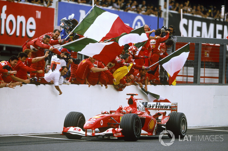 WM-Titel in Serie (Ferrari/Mercedes - 6)