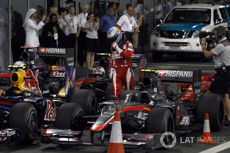 2010: Fernando Alonso pierde el tri, Sebastian Vettel campeón
